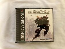 Final Fantasy Anthology (Sony PlayStation 1, Psx) - Complete and Very Good