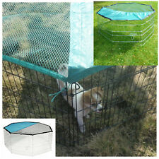 Large Pet Playpen Outdoor Easy Storage Safe Comfortable Sun Protection 8Panels