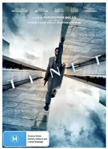 Tenet - DVD Brand New & Sealed Region 4 - John David Washington, Robert Pattison