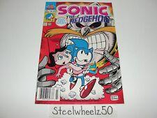 Sonic The Hedgehog #1 Comic Archie 1993 Mini Series Premiere Sega Video Game HTF