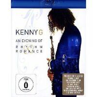 """KENNY G """"AN EVENING OF RHYTHM & ROMANCE""""  BLU-RAY NEUF"""
