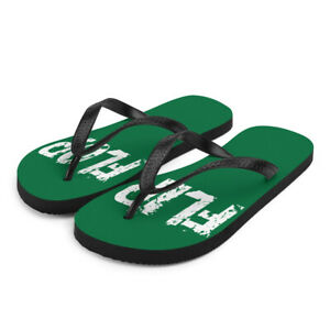 Green Flip-Flops Beach shoes Shower Shoes Pedicure Shoes Pool Shoes Slippers