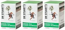 Dr Stuart's Green Tea Ginger & Seaweed - 15 Bags (Pack of 3)
