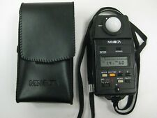 Minolta flash meter lllF Multi mode meter with case minolta iiiF  minolta 111F