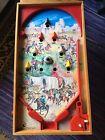 Vintage Pin Ball Flipper Table Top Game Bagatelle ARCO FALC