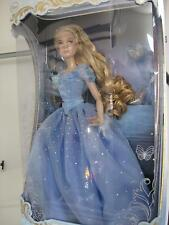 "Disney Store CINDERELLA 17"" DOLL Limited Edition of 4000 Live Action Movie NEW"