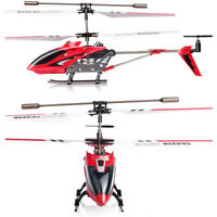 Syma S107 Mini Remote Control Helicopter Phantom 3CH 3.5 Channel with Gyro Red