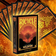 Bicycle Natural Disasters Deck - Wildfire - Playing Cards Magic Tricks - New