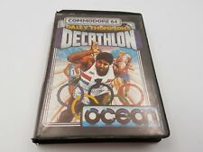 Funda de Juego Decathlon Daley Thompson´s Ocean.Commodore 64 C64.COMBINO ENVIO