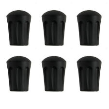 6 pcs Hiking Pole Replacement Tips Trekking Protector Walking Stick Head