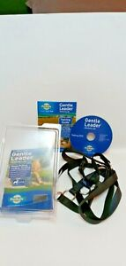 Gentle Leader Headcollar For Dogs Size XL Black Stop Pulling Lunging Jumping New