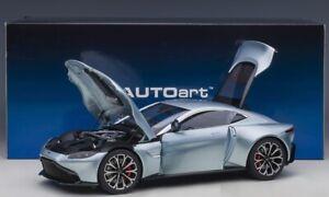 Aston Martin Vantage 2019 (Skyfall Silver) 1:18 AUTOART