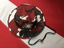 RED Camo Rothco boonie hat disaster tactical survival bugoutgear protection sun