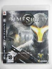 jeu TIMESHIFT sur PS3 playstation 3 en francais game spiel juego gioco complet