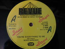 """BORIS GARDINER-YOU'RE EVERYTHING TO ME. ORIG 1986 REGGAE/SKA 12"""" SINGLE. VG CON"""