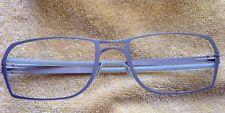 Ic! Berlin Model Vance Grey Silver Titanium Eyewear Eyeglass Frame Germany
