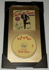 CHUBBY CHECKER AUTOGRAPHED GREATEST HITS CD (FRAMED & MATTED) - THE TWIST!