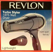 NEW - Revlon Lightweight Turbo Styler 1875 Watt Hair Dryer 3 Speed Model RV408