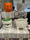 NIB SCENTSY MINI WARMER CUT IT OUT ALL WRAPPED UP EVERYTHING NICE LOCK SHOCK NBC