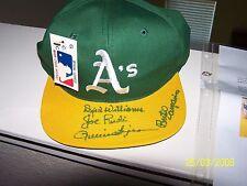 Oakland As Dick Williams Rollie Fingers Joe Rudi Campaneris Signed Autograph COA