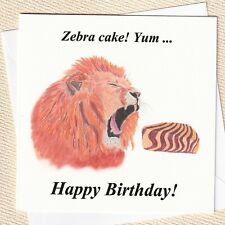Lion Birthday Card