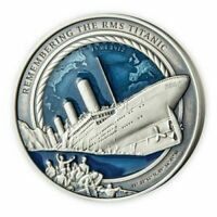 2021 TITANIC 35th Anniversary 3 Oz $10 SILVER COIN BRAND NEW ONLY 999 MADE