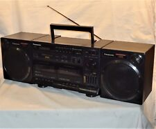 VINTAGE PANASONIC RX-CT900 AM/FM DIGITAL RADIO DUAL CASSETTE * BOOMBOX XBS