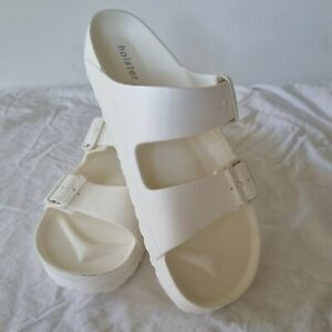 Holster size US 10/ 41 white beach sandal slide comfort with arch support