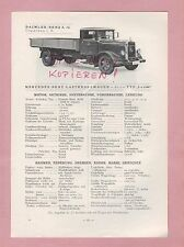 Gaggenau tipos pizarra 1934 daimler-benz ag mercedes camiones L o 3500, omnibus l o 3500