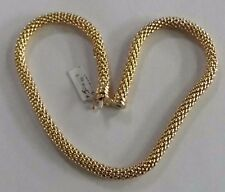COLLANA ORO 18 KT FOPE GOLD NECKLACE Goldkette D'OR COLLIER