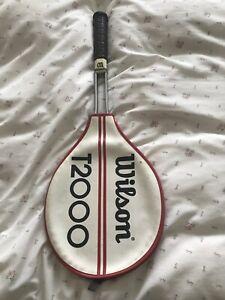 Wilson Jimmy Connors T2000 Vintage Tennis Racket Origional Spec