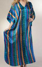 "Silky Soft  Boho Caftan Kimono Sleeve Beach Loungewear Kaftan Maxi Long Gown 70"""