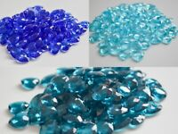 Blue Heart Scatter Crystals Table Decoration Party Wedding Decor Confetti 12mm