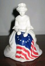 VINTAGE AVON Betsy Ross Figurine - Sonnet Cologne Bicentennial 4 Fl. Oz.