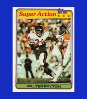 1981 Topps #202 Walter Payton Super Action NR-MINT OR BETTER - $1 COMBO SHIPPING