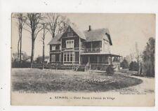 Kemmel Chalet Danois a l'Entree du Village Vintage Postcard France 580a