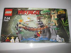 LEGO NINJAGO MOVIE SET 70608 NINJA MASTER FALLS - BRAND NEW