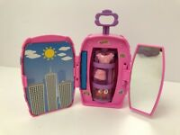 Fashion Polly Pocket Groovy Getaway Suitcase Surprise Playset Pink 2002