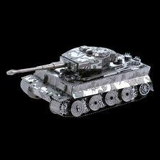 Metal Earth Tiger I Tank DIY laser cut 3D steel model kit MMS203