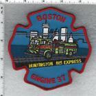 Boston Fire Department (Massachusetts) Engine 37 Shoulder Patch