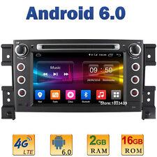 7'' 2GB RAM 4G Android 6 Car DVD Player Radio For Suzuki Grand Vitara 2005-2015