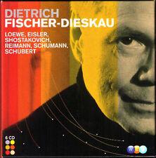 Dietrich FISCHER-DIESKAU 6CD Loewe Schubert Schumann Eisler Shostakovich Bizet