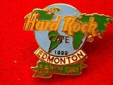 HRC HARD ROCK CAFE Edmonton Earth Day 1999 Globe le250