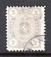Finland - 1875 Def. Coat of Arms Mi. 12Byb FU (Perf. 12,5)  b