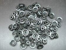 100 pcs 3/16 emblem name plate black phosphate thread cutting nuts for Dodge