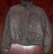 FIRSTGEAR WOMEN'S MEDIUM HEIN GERICKE BROWN LEATHER MOTORCYCLE JACKET!