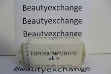 Emporio Armani White For Men Cologne Eau De Toilette Spray 1.7 oz Sealed Box