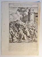 vermutl. Antonie WIERIX (c.1552-c.1624) kupferstich um 1590: Simon le charge...