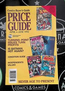 Comics Buyer's Guide Price Guide 1992  Impel Marvel Universe 3 Promo Sheet Spawn