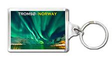 TROMSØ NORWAY AURORA BOREALIS MOD2 KEYRING SOUVENIR LLAVERO